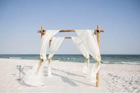 Bamboo Wedding Arch Beach Weddings Ceremonies Aquamarine Beach Weddings