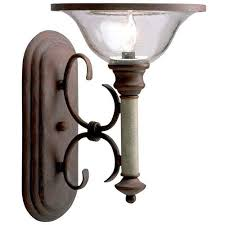 Kichler Lighting Kichler Lighting 93039 One Light Wall Sconce In Brick Finish