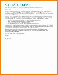 8 sample cover letter for accounting letter signature