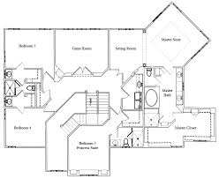 floor plans for two homes multigenerational home plan two master bedrooms stanton homes