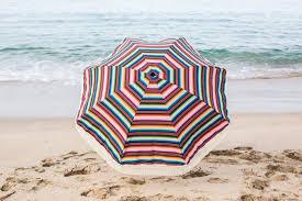 Lightweight Beach Parasol Las Brisas Beach Umbrella U2022 100 Uv Protection U2022 Beach Brella
