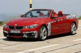 lexus convertible melbourne spied 2014 bmw 4 series convertible is red