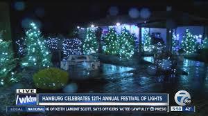 hamburg festival of lights hamburg celebrates 12th annual festival of lights wkbw com buffalo ny