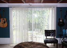 perfect white blinds with curtains sliding doors treated like