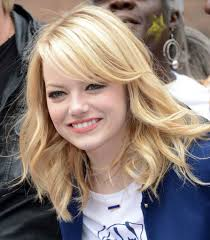 long blonde hairstyles for thick wavy hair and round face cute