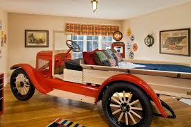 Cool Car Beds For A Stylish Kids Room Shelterness - Firefighter kids room