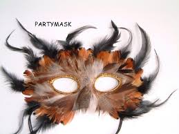 feather mask feather mask