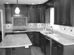 ideas for black and white kitchen beige oak kitchen island style