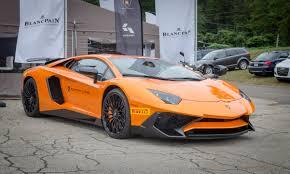 Lamborghini Aventador Orange - lamborghini aventador sv supercars