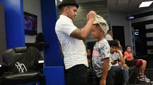 odell beckham jr haircut dapper barbershop odell beckham jr haircut explicit youtube