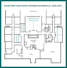 Fitness Center Floor Plans Doubletree Cincinnati Blue Ash Weddings And Events