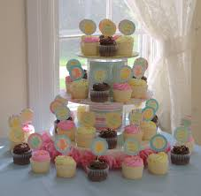 cupcake display ideas for baby shower baby shower diy