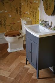 Heritage Bathroom Vanities by Heritage Caversham Graphite Vanity Unit For Blenheim Basin Kgrhp34