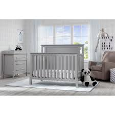 Modern Convertible Crib Serta Mid Century Modern Lifestyle 4 In 1 Convertible Crib Grey