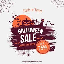 Halloween Sale Creative Halloween Sale Background Vector Free Download