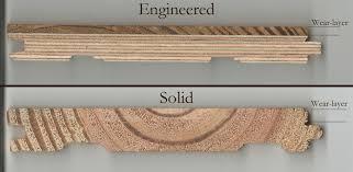 engineered hardwood flooring vs solid flooring design