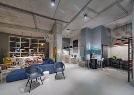 Office Industrial Office Space Awesome Cool Industrial Office Design For Home Decoration Ideas With
