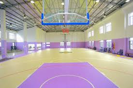 basketball courts with lights near me installed indoor basketball court multifunctional sports flooring