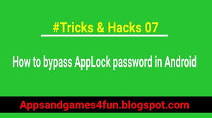 how to bypass android password how to bypass applock password in android tech helper