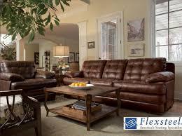 Flexsteel Dylan Sofa Flexsteel Dylan Leather Sofa Centerfieldbar Com