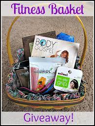 fitness gift basket a tisket a tasket win an easter basket forever for always