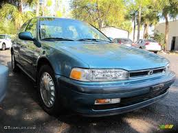 90 honda accord 1990 laurel blue metallic honda accord ex sedan 43879867