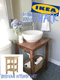 Bathroom Vanities Ikea Best 25 Ikea Hack Bathroom Ideas On Pinterest Ikea Bathroom