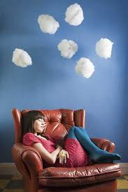 creative winter decorating brings handmade clouds into homes