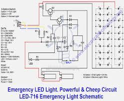 emergency led light powerful cheep circuit led 716 emergency on