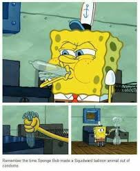Funny Condom Memes - image 633257 spongebob squarepants know your meme