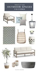Large Outdoor Floor Pillows by Get The Look Modern Neutral Outdoor Space U2014 Studio Mcgee