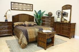 Hospitality Bedroom Furniture by Polynesian Wicker Bedroom Furniture 710 By Hospitality Rattan