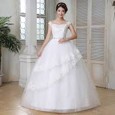 Wedding Dresses For Larger Ladies 2016 New Summer Large Size Korean Style Butterflies Sweet Lady