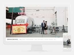 Wedding Site Design A Custom Wedding Website With Squarespace Green Wedding