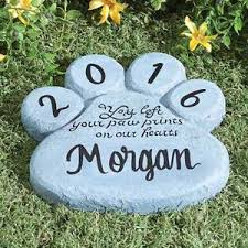 garden memorial stones personalized pet memorial stones ebay