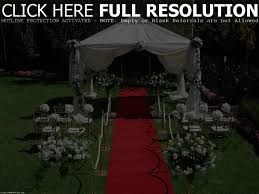 Simple Backyard Wedding Backyard Wedding Decorations Pictures Home Outdoor Decoration