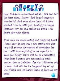 boyfriend thank you letter funny boyfriend birthday card thank