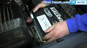 how to remove install replace battery 1995 99 chevy tahoe gmc