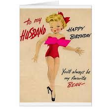 retro birthday card for husband zazzle com