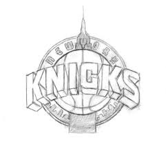 new york knicks coloring pages ultimateknicks com forums the knick logo rated