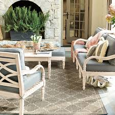 Ballard Designs Patio Furniture Geneve Indoor Outdoor Rug Loggia Porch Ideas Pinterest