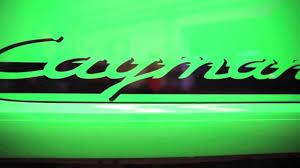 porsche viper green vs signal green revolution porsche cayman s sport youtube