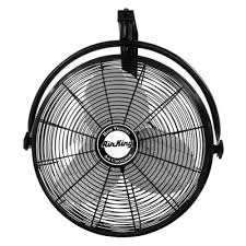 high cfm industrial fans 9020 air king industrial 20 inch wall mount fan with bracket high