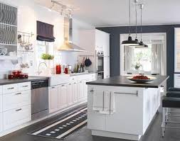 Create Classic Drama With Blackbrown And Oak Ikea Interesting - White kitchen cabinets ikea