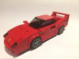lego ferrari speed champions lego ideas ferrari f40 lego speed champions