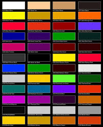 best 25 car paint colors chart ideas on pinterest chore charts