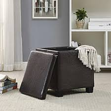 storage ottomans storage foot stools sears