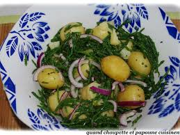 salicorne cuisine recettes de salicorne et pomme de terre