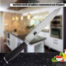 new arrival stainless steel knife 8 inch slicing knife good