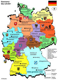 map of germany with states and capitals german states and capitals map travel maps and major tourist